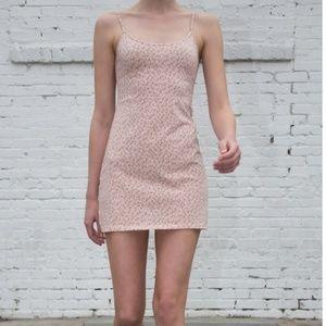 BRANDY Melville Kyran mini dress Pink ditzy floral